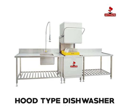 HOOD TYPE DISH WASHER